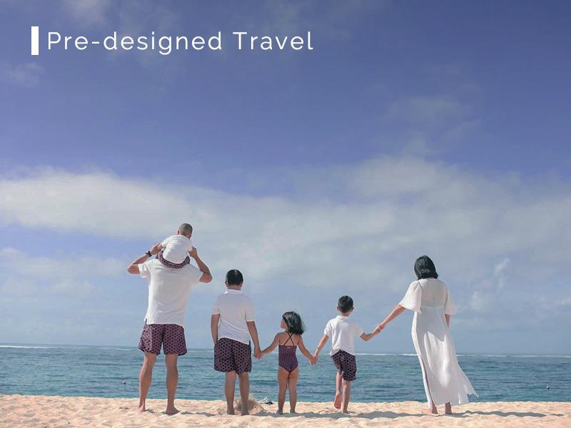 Pre-designed Travel